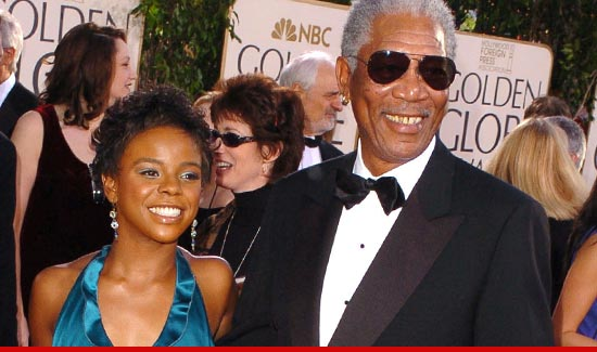 Morgan Freeman and EDena Hines