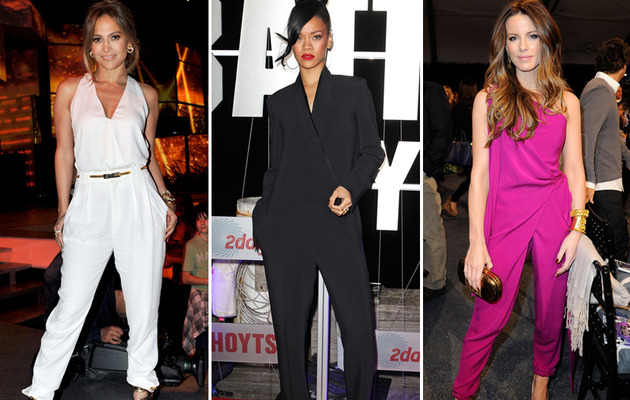 Jump to it! Celebrities Love Jumpsuits