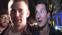 'Avengers' Star Chris Evans -- I Want to be the Next Bear Grylls