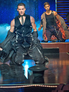"Channing Tatum, Matt Bomer Strip In New ""Magic Mike"" Pics"