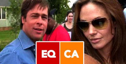 Brad Pitt and Angelina Jolie Engagement -- Gay Marriage Group Gives Their Blessing