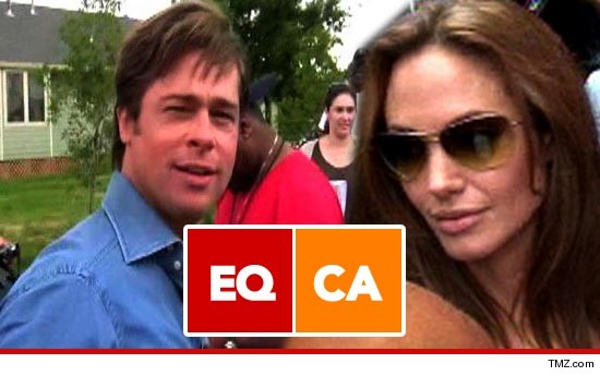 A gay rights group in California fully supports Brad Pitt and Angelina ...