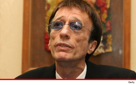 Bee Gees legend Robin Gibb