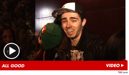 Nathan Sykes from The Wanted