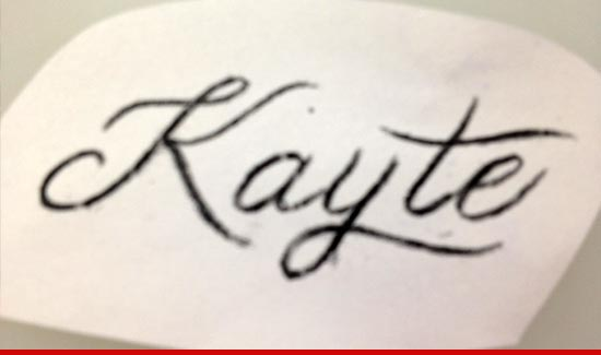 Kelsey Grammer Kayte Tattoo