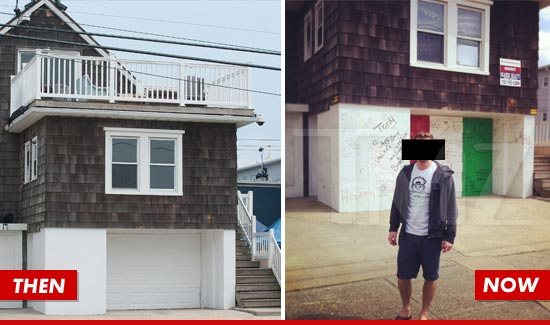 Jersey Shore House Vandalized