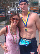 &quot;Bachelorette&quot; Star Ryan Sutter Runs Boston Marathon!