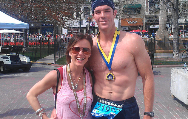 """Bachelorette"" Star Ryan Sutter Runs Boston Marathon!"