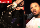 The Game Dumps $1,400 Bottle of Champagne ... On the Street