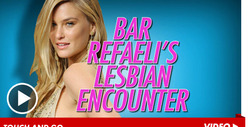 Bar Refaeli -- Real Touchy About Airport Security