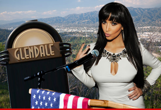 Kim Kardashian to be the next Glendale mayor?