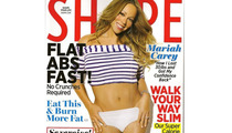 Mariah Carey Rocks Bikini in Shape Magazine