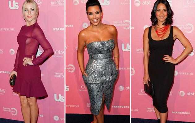 Julianne Hough, Kim Kardashian Give an Eyeful Us Weekly Style Event