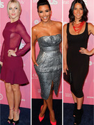 Julianne Hough, Kim Kardashian Give an Eyeful Us Weekly Style Event