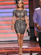 Jennifer Lopez Wears Her Sexiest Dress Yet on &quot;American Idol&quot;!