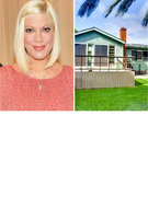 Tori Spelling Selling Malibu Beach Pad        