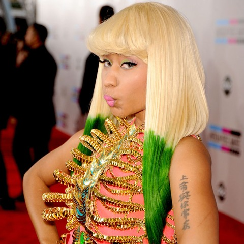 Nicki Minaj&#039;s most outrageous and colorful wigs!