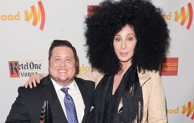Cher Rocks Huge Hair At GLAAD Media Awards!