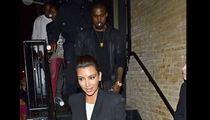 Kim Kardashian & Kanye West -- Spicing Things Up [PHOTO]