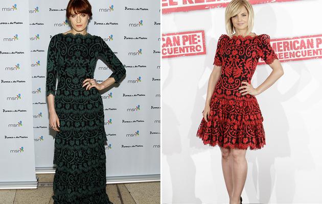 Dueling Dresses: Florence Welch versus Mena Suvari
