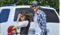 Ashton Kutcher and Mila Kunis -- The Weekend Getaway