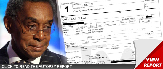 Don Cornelius autopsy report