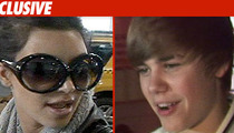 Kim K and Bieber -- Bum Rushed by 12-Year-Old
