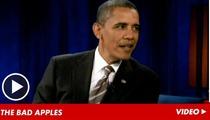 Barack Obama on Secret Service Prostitution Scandal -- We Fired the 'Knuckleheads'