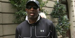 Deion Sanders -- I Would NEVER Hit a Woman!!! [Video]