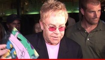 Elton John Sued Over Hit Song -- You Jacked My Lyrics!!!