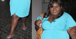 Gabourey Sidibe -- Check Out My Jolie Leg!