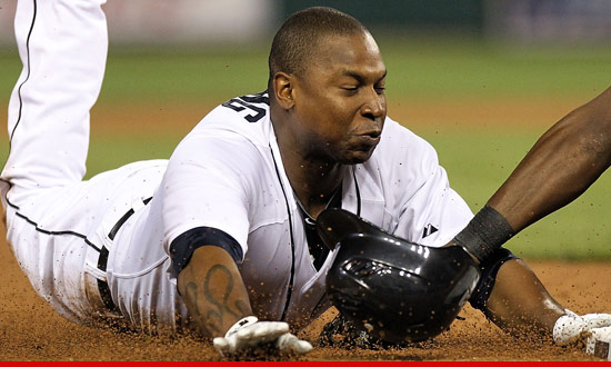 Detroit Tigers star Delmon Young