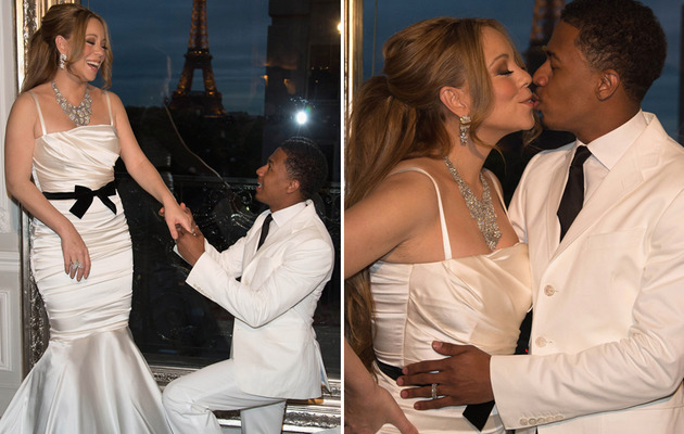 Mariah Carey & Nick Cannon Renew Vows in Paris