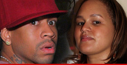 Allen Iverson&#039;s Wife -- I Want a Restraining Order ... NOW