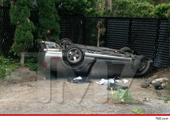 Patrick Dempsey Car Crash rescue photos