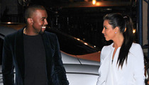 Kanye West and Kim Kardashian -- They Only Have Eyes for Each Other