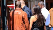 Kim Kardashian & Kanye West -- She's Baaaaaaack!