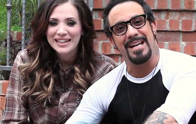 "Backstreet Boy A.J. McLean & Wife: ""We're Having a Baby!"""