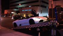 Ultra-Rare Versace Lamborghini -- The MILLION-DOLLAR Tow Job