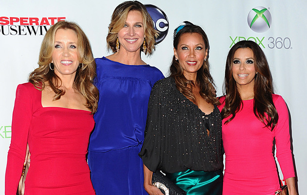 """Desperate Housewives"" Wrap Party -- Which Two Stars Were Missing?"