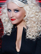 Christina Aguilera Wears Tiara, No Pants!