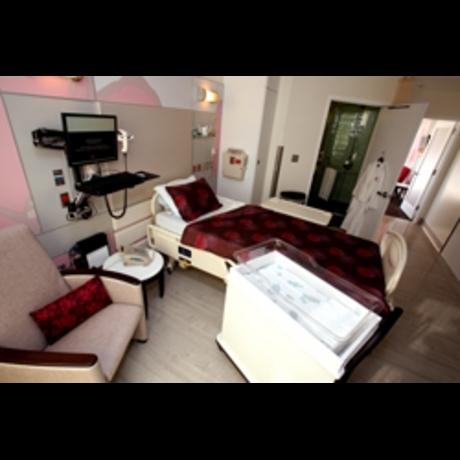Jessica Simpson Baby Hospital Suite Photos