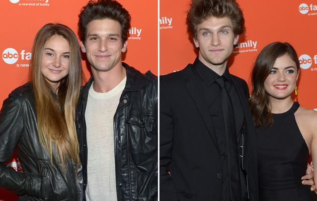 Young Stars Come Out For ABC Family Night in Hollywood