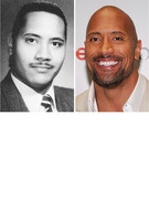 The Rock Turns 40: See His and Other WWE Stars' Yearbook Pics!