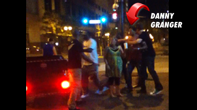 Pacers Win Playoff Game; Get into Standoff with the Cops