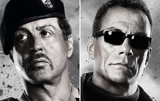"""Stallone Fights Van Damme in New """"Expendables 2"""" Trailer"""