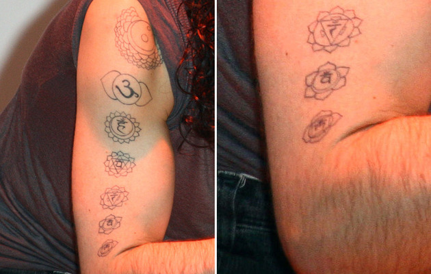 Guess Who's Got an Armful of New Tattoos!