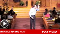 Homophobic Pastor Sean Harris -- I DON'T Advocate Beating Your Gay Child