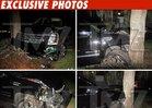 Tiger Woods Car Crash Photos