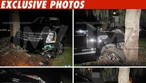 Tiger Woods Car Crash Photos